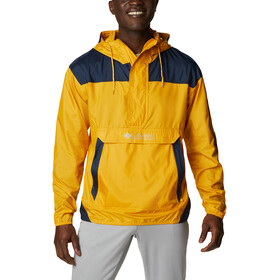 Columbia Challenger Windbreaker Jacket Men bright gold/collegiate navy